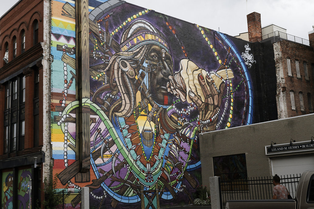 Murals, Music & Monsters in Downtown Lynn