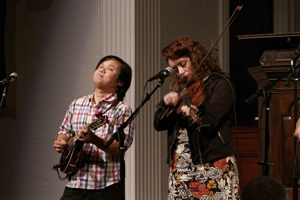 Fiddler Kathleen Parks & mandolinist Dan Bui