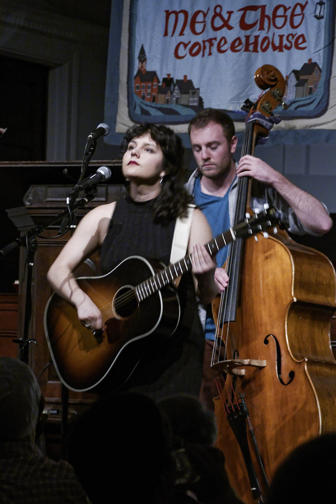 Rachel Sumner and Chris Sartori